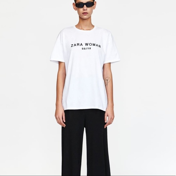 3b5ac787 Zara woman t shirt
